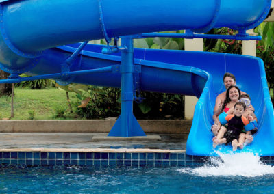 Waterslide at Lagoon Pool